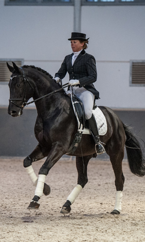 Jenny Veenstra and Sandro Hit gelding
